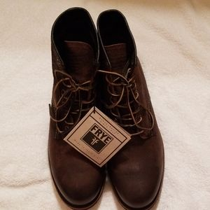 Frye mens leather lace up boots 11.5
